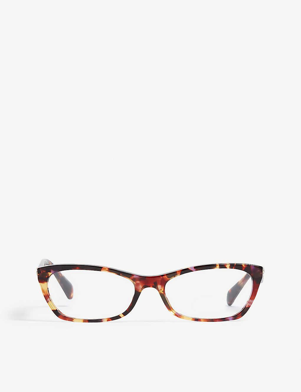 99425c2483d6 PRADA - VPR15P cat-eye-frame glasses | Selfridges.com