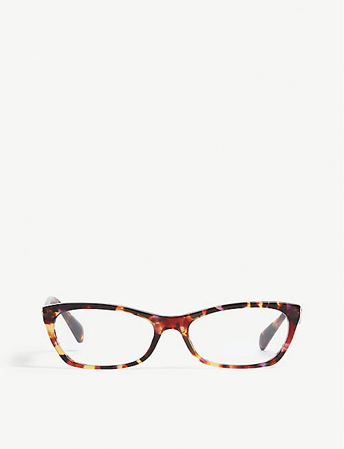 PRADA VPR15P cat-eye-frame glasses