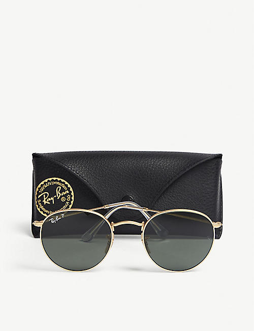 RAY-BAN RB3447 phantos-frame sunglasses