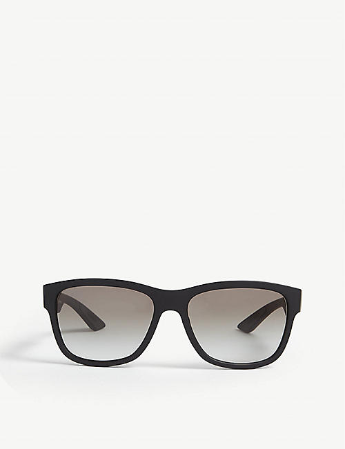 PRADA LINEA ROSSA PS03Q square-frame sunglasses