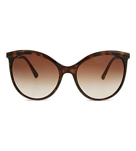 7e4ccc7a03 GIORGIO ARMANI AR8070 cat-eye sunglasses (Havana
