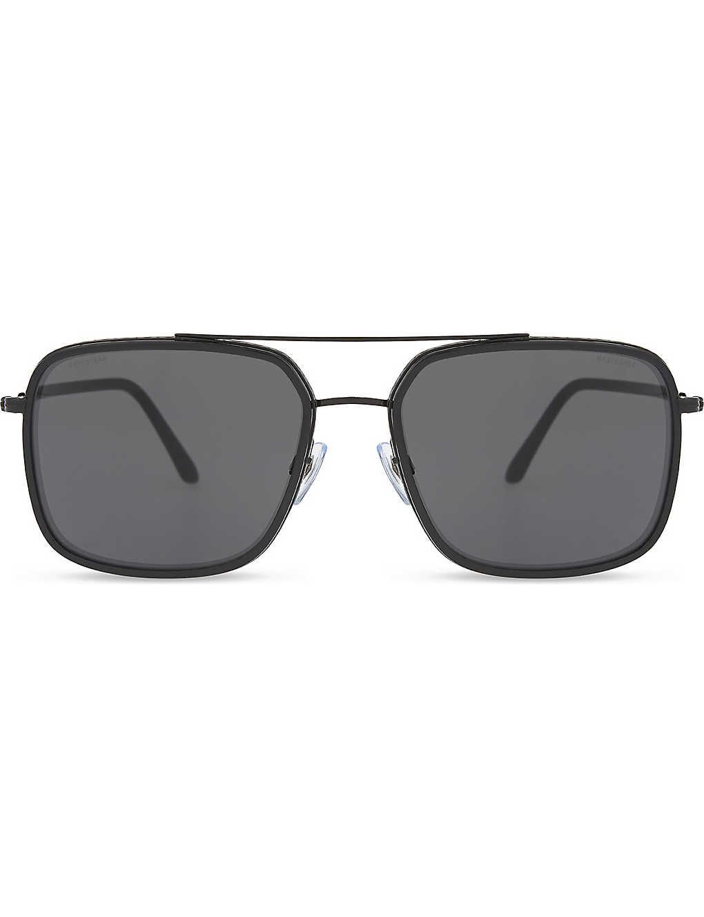 6bfe03a020ed GIORGIO ARMANI - AR6031 Frames of Life square-frame sunglasses ...