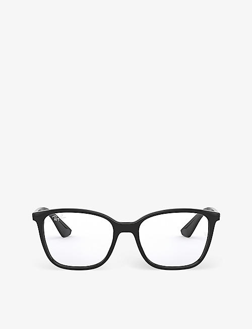 RAY-BAN: RX7066 rectangular-frame optical glasses