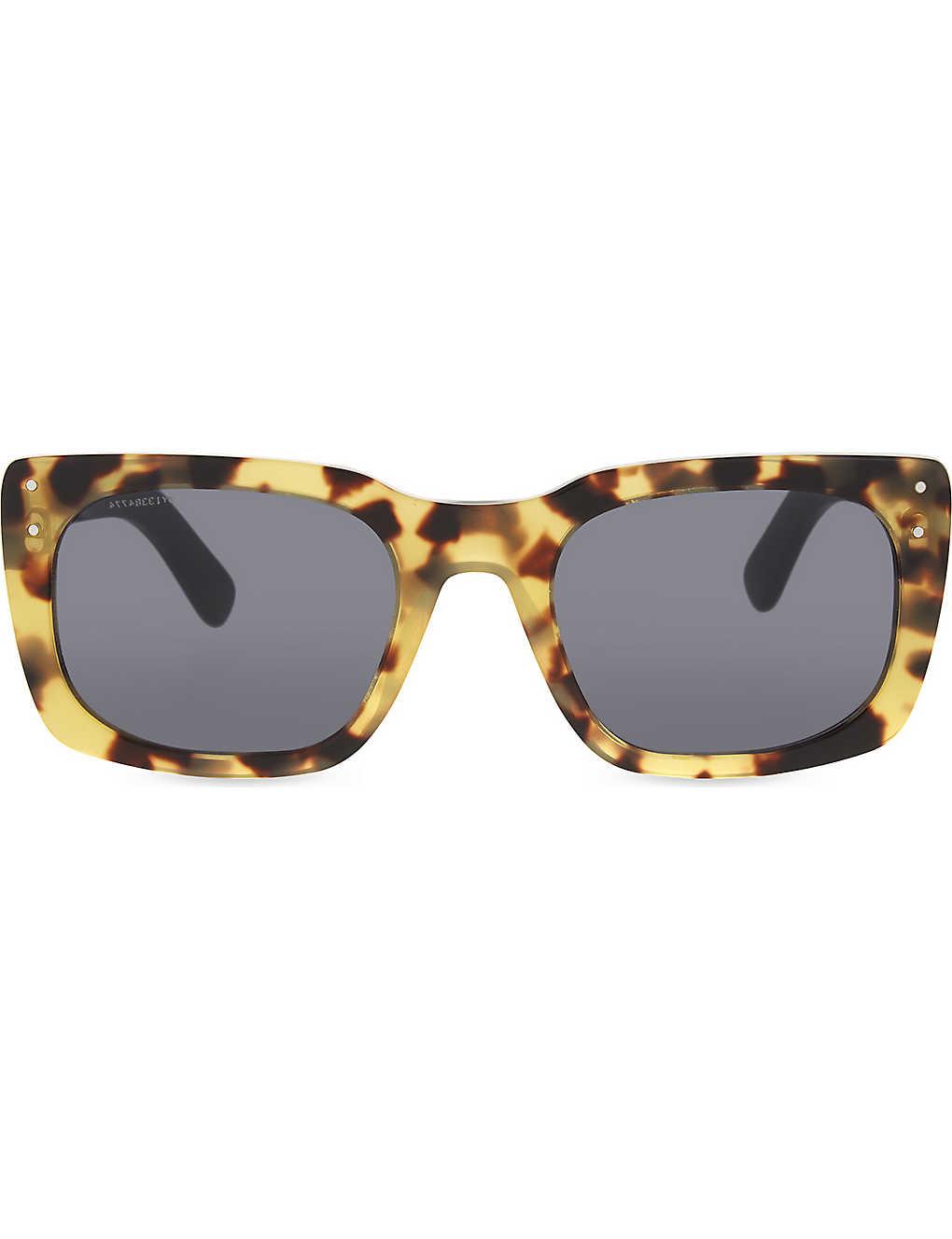 d77827a465d9 BURBERRY - BE4223 Runway square-frame sunglasses | Selfridges.com