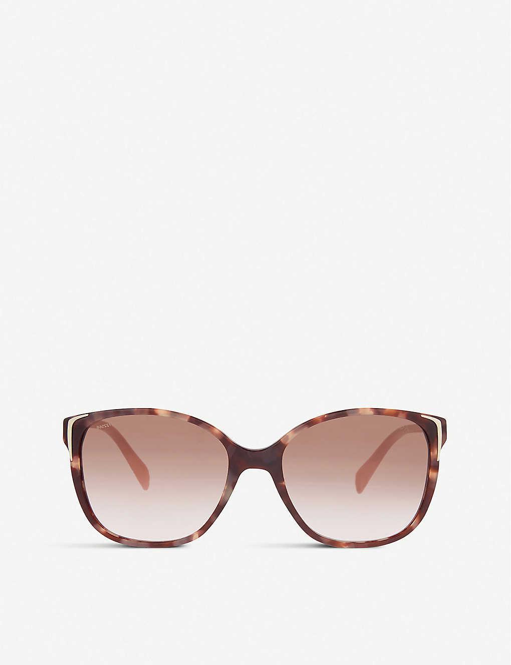 36d7581e274e PRADA - SPR010 square-frame sunglasses | Selfridges.com