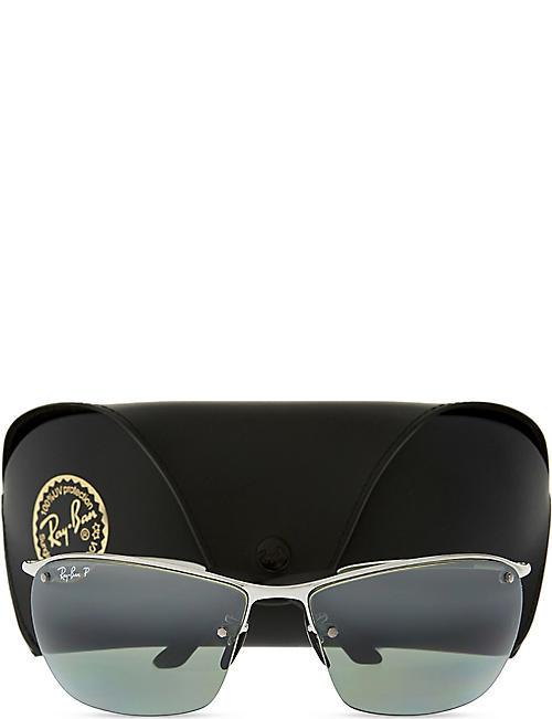 6c6a984a0d144 RAY-BAN Rb3544 chromance rectangle-shape sunglasses