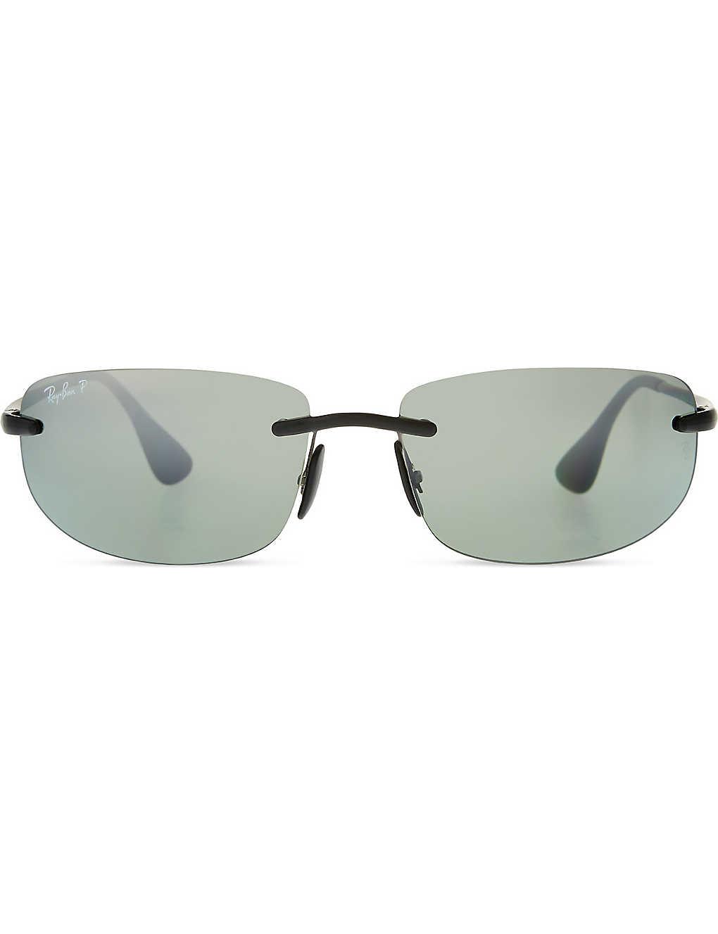 d82a24fe3e73 RAY-BAN - Rb4254 chromance rectangle sunglasses | Selfridges.com