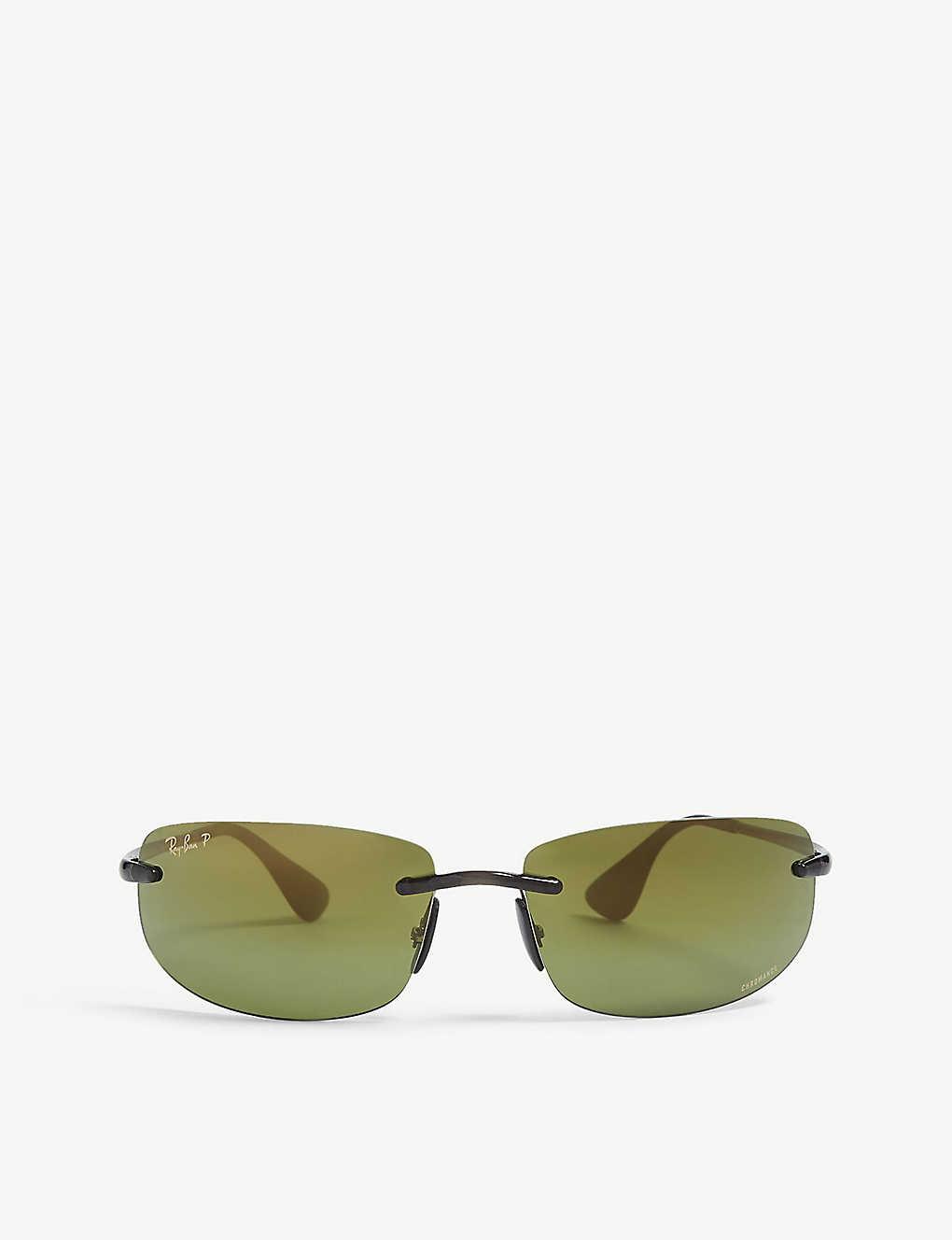 3198ba18846e RAY-BAN - RB4254 Chromance® rectangular sunglasses | Selfridges.com