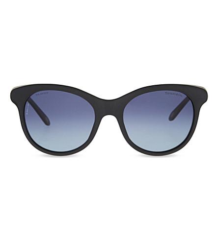 71cda789a4 TIFFANY   CO TF4125 1837 round-frame sunglasses (Matte+black