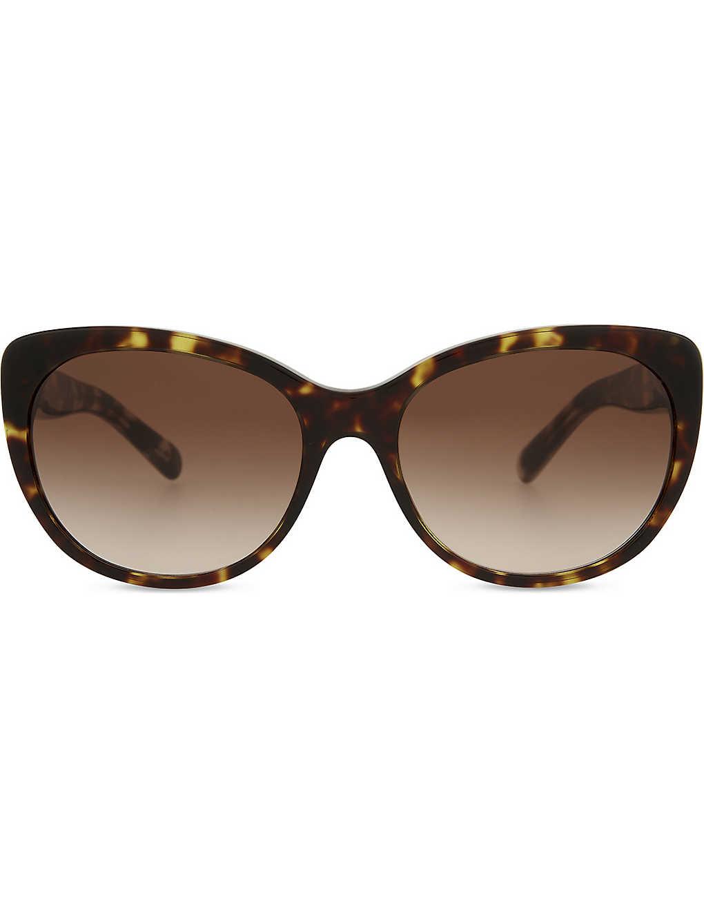 d7262eb0b202 BURBERRY - BE4224 cat-eye tortoiseshell sunglasses | Selfridges.com