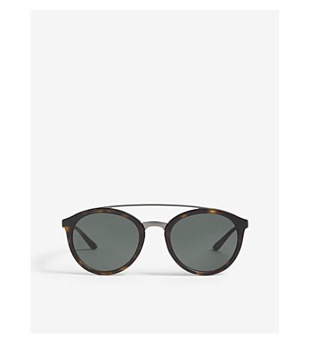 12f0cda2b5e4 GIORGIO ARMANI Havana 0ar8083 round sunglasses (Havana