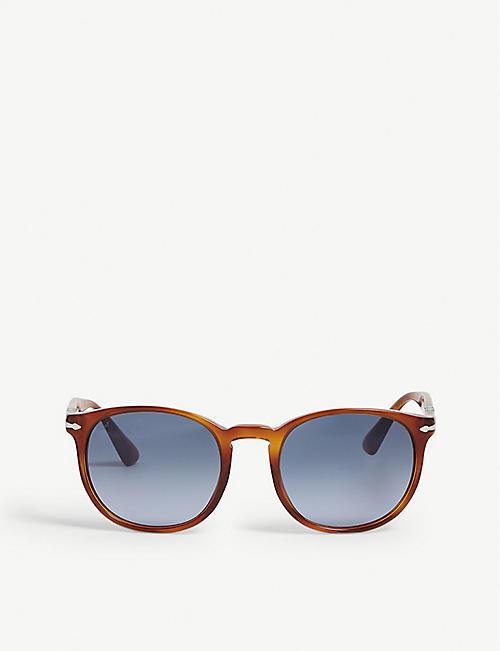 cfb9028fa16b0 PERSOL Po3157s havana phantos-frame sunglasses