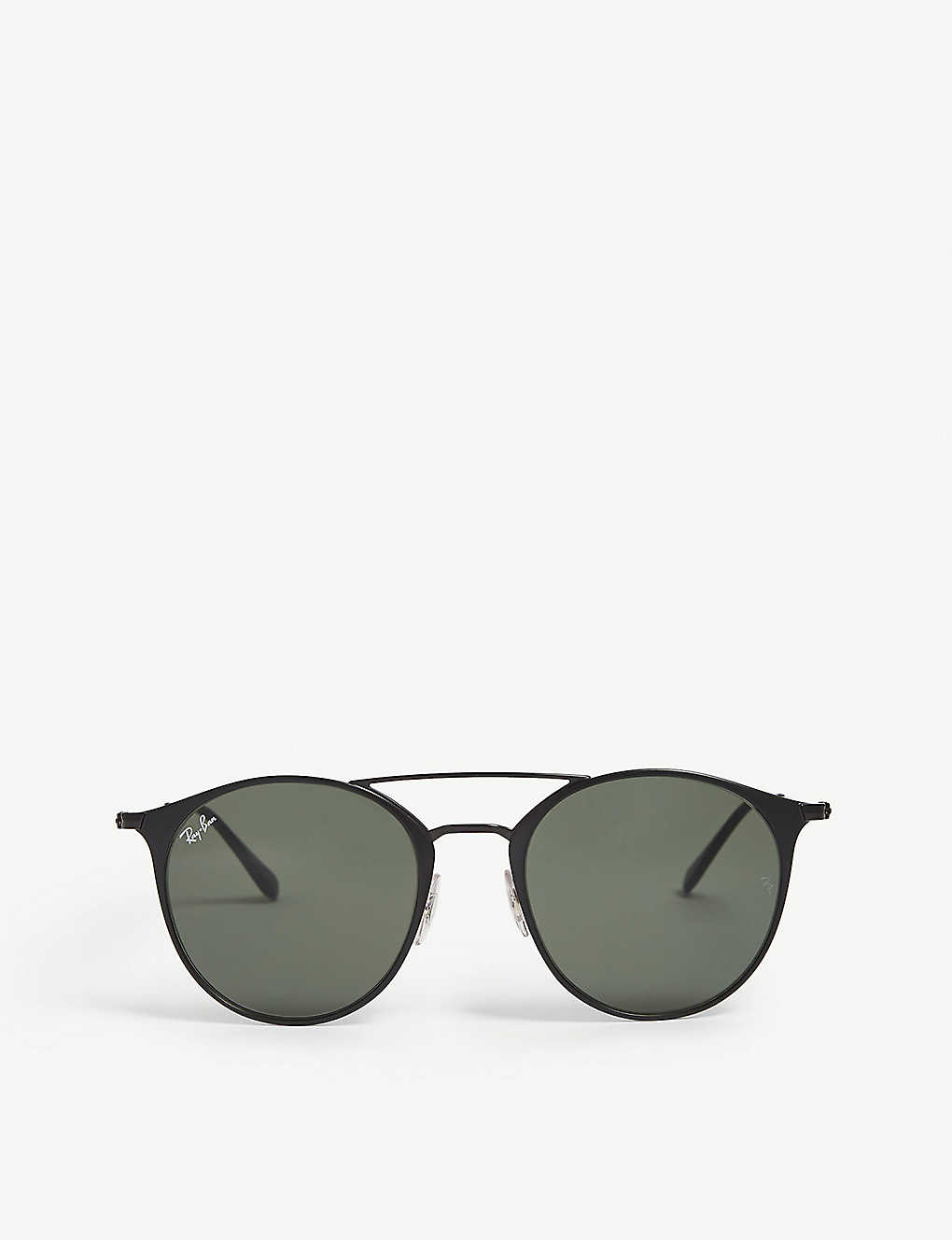b3ef02bd68037 RAY-BAN - RB3447 metal round sunglasses