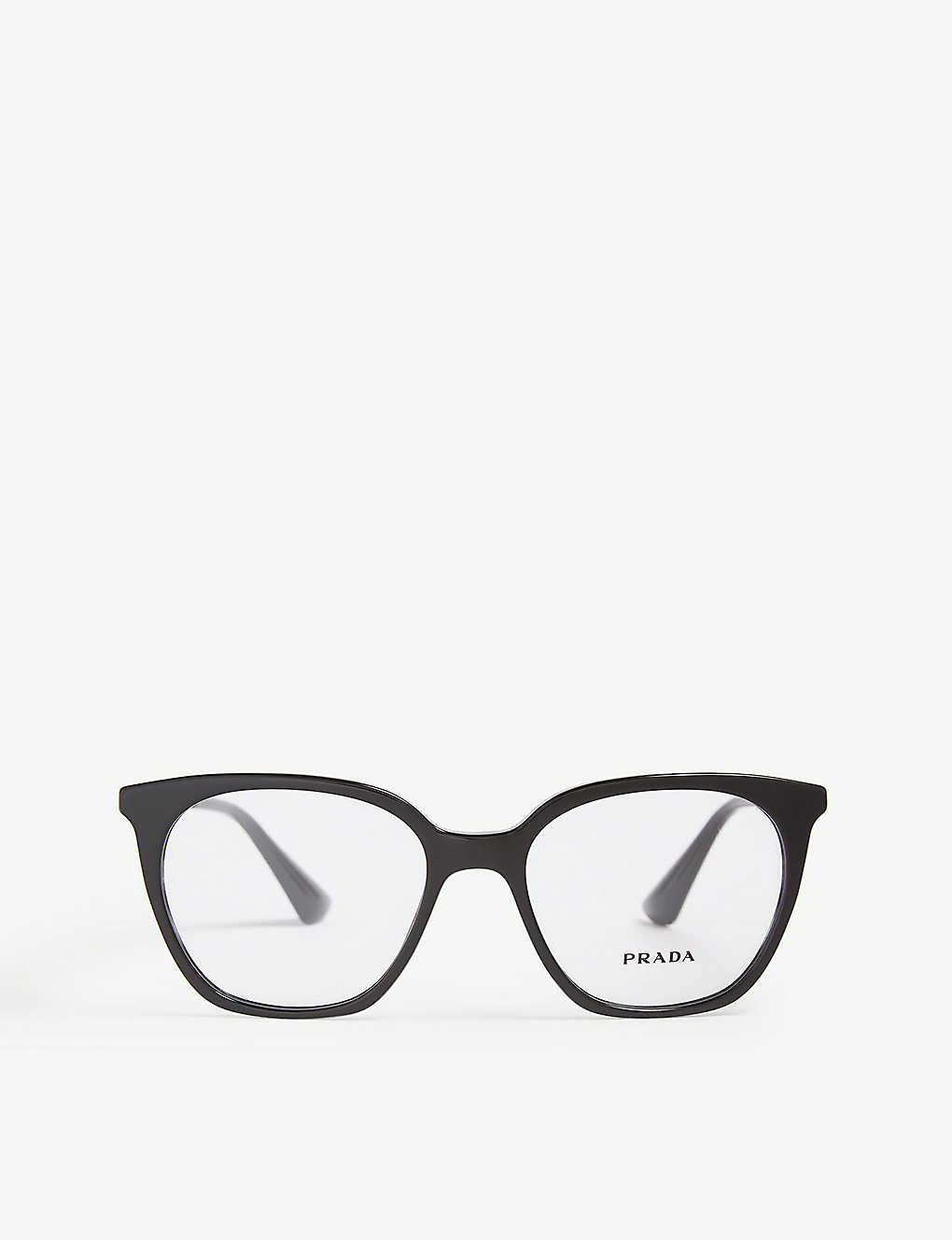d242e272212d PRADA - PR11T square-frame glasses | Selfridges.com