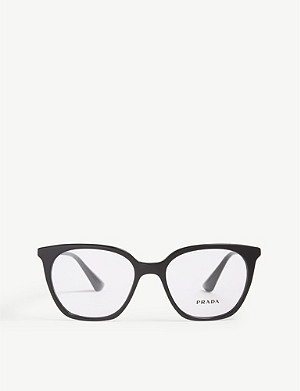PRADA PR11T square-frame glasses