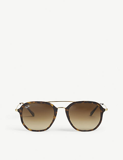 4f0b6ee082 RAY-BAN - Square - Sunglasses - Accessories - Mens - Selfridges ...