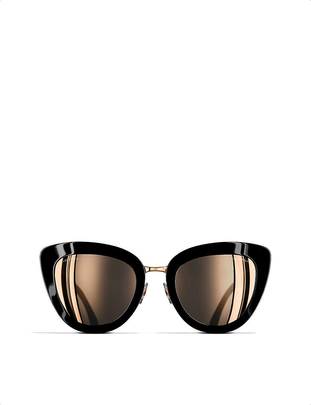 02406f4519 CHANEL - Cat-eye sunglasses