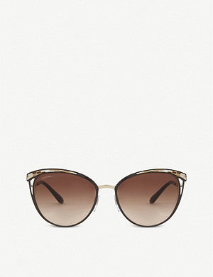 BVLGARI Bv6083 Phantos cat-eye sunglasses
