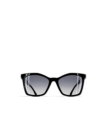 7fe4c7e79d CHANEL Square sunglasses (Black