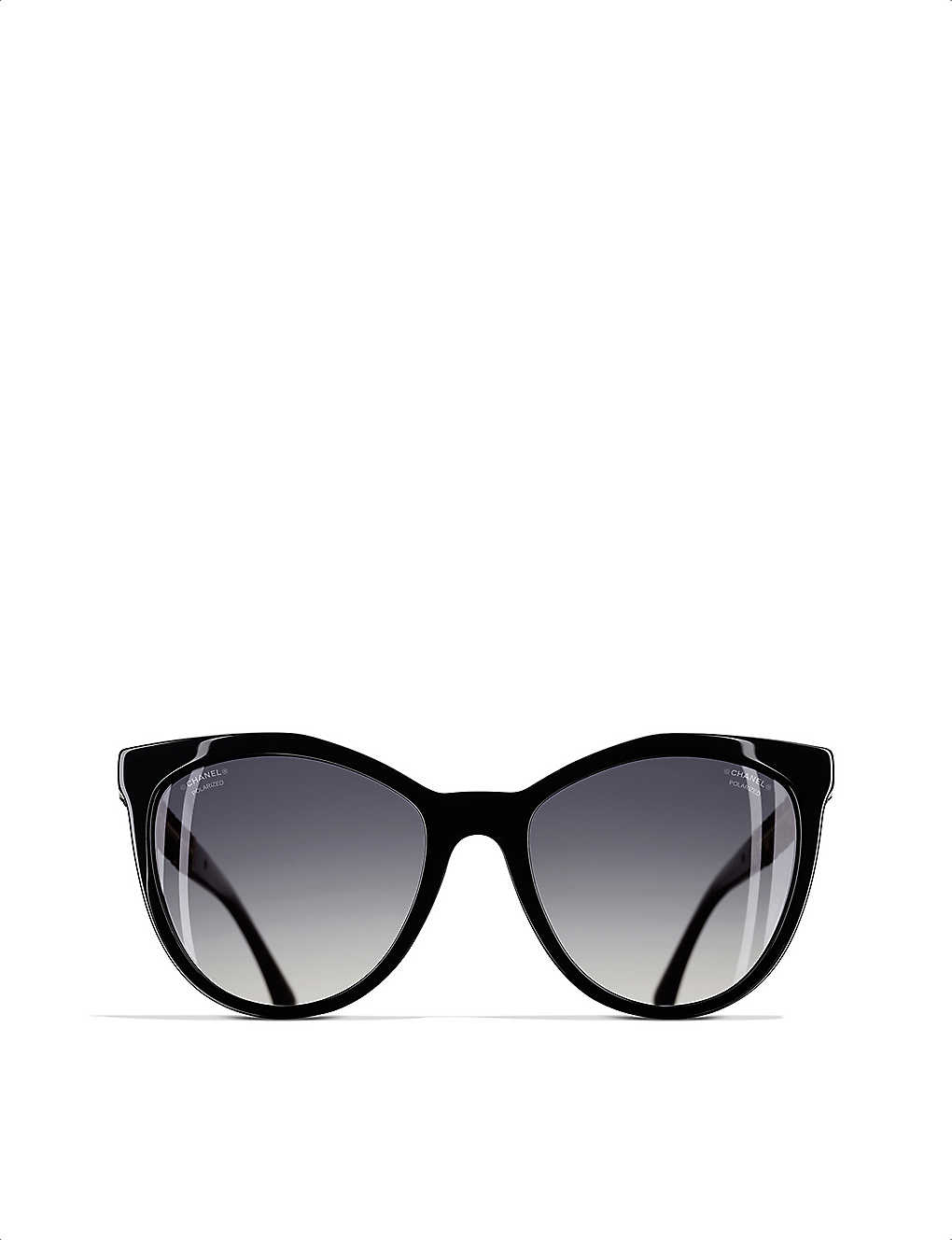 896fd9127c0 CHANEL - Cat-eye sunglasses
