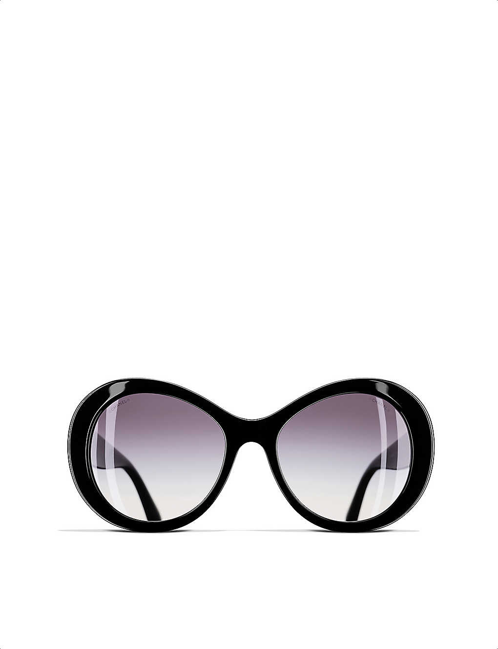 53f0b4308a569 CHANEL - Oval sunglasses