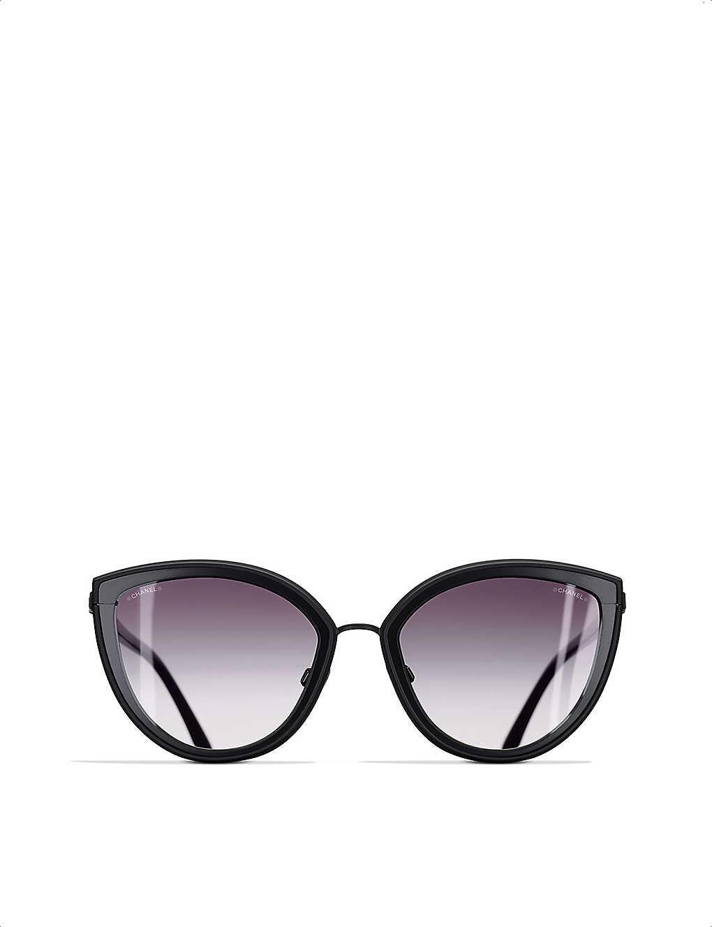 91879d20b0 CHANEL - Cat-eye sunglasses | Selfridges.com