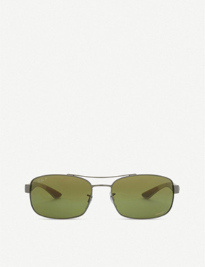 RAY-BAN 0RB8318CH rectangle sunglasses