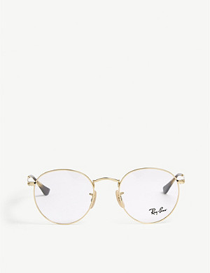 RAY-BAN Phantos round-frame glasses