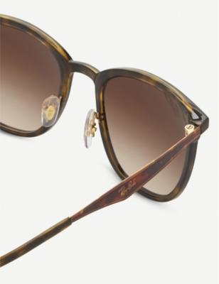 feca7a6a0a Ray Ban Rb4278 Tortoiseshell Sunglasses In Matte Havana