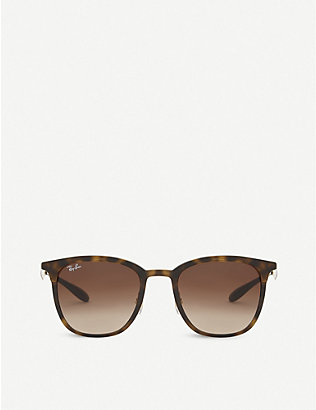 RAY-BAN: Rb4278 tortoiseshell sunglasses