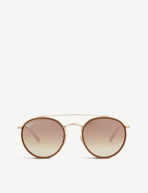 RAY-BAN Rb3647 round-frame sunglasses