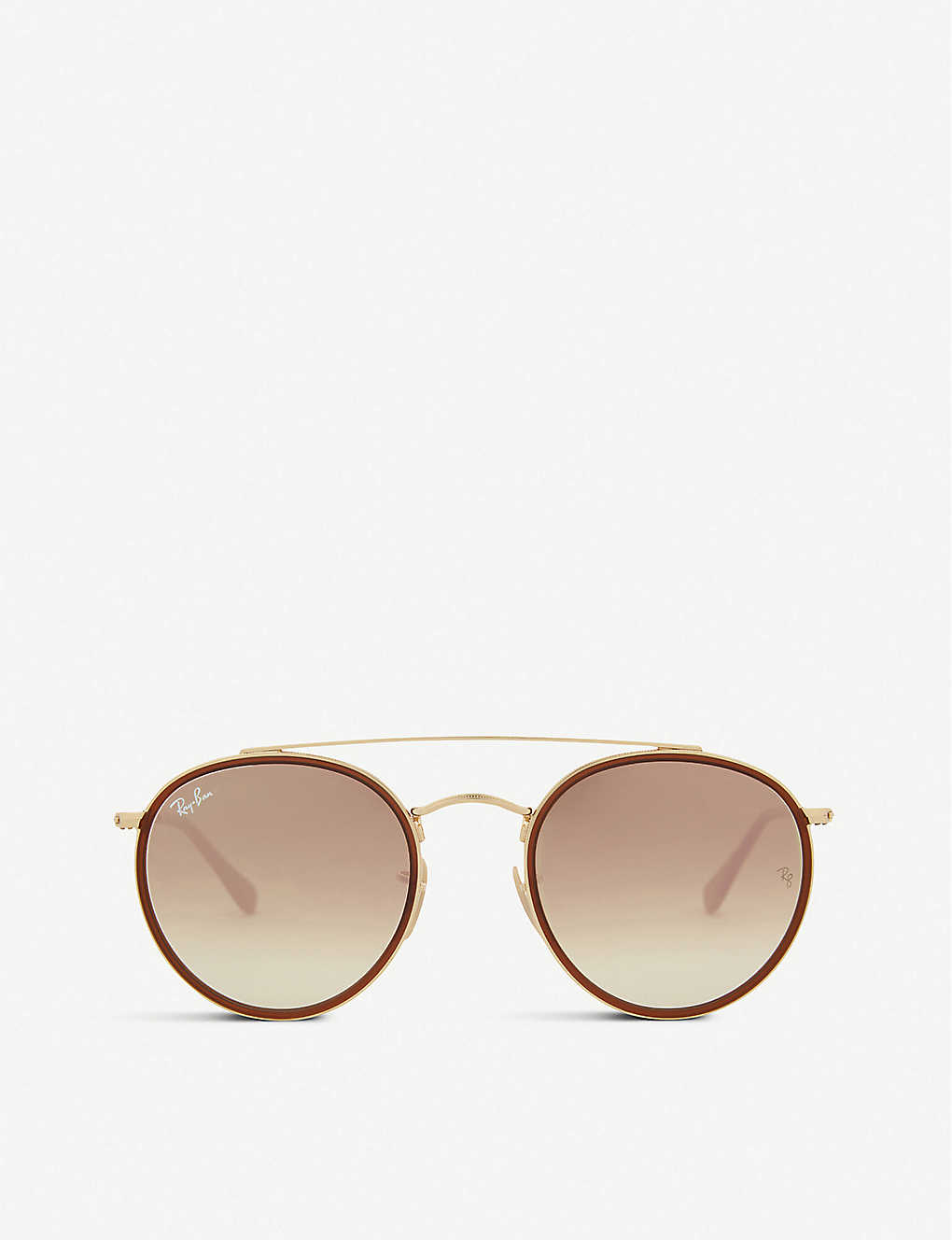 RAY-BAN: Rb3647 round-frame sunglasses