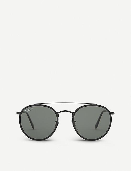 4f0b6ee082 RAY-BAN - Square - Sunglasses - Accessories - Mens - Selfridges ...