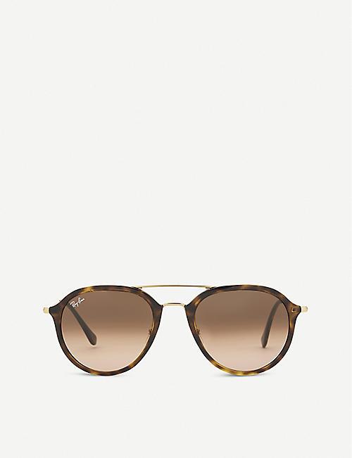 0c58d1698c9f4 RAY-BAN RB4253 Havana tortoiseshell sunglasses