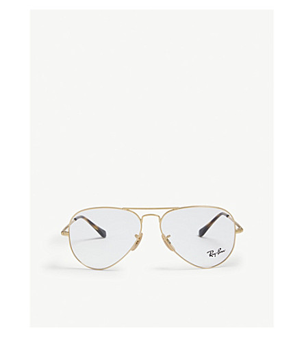 6109c5db80 RAY-BAN RB6489 Aviator Classic glasses (Gold