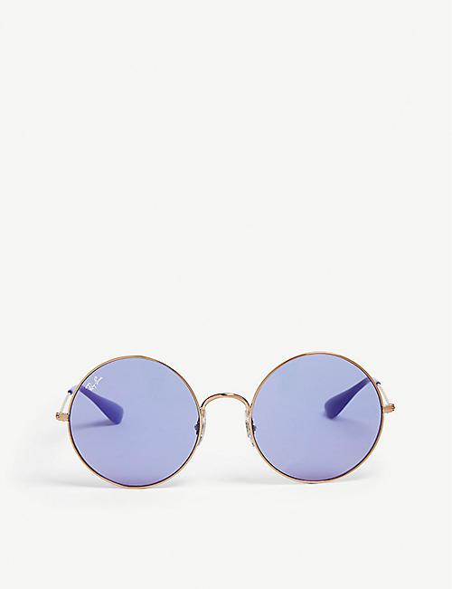 5bb88ba71ced RAY-BAN RB3592 Ja-Jo round-frame sunglasses