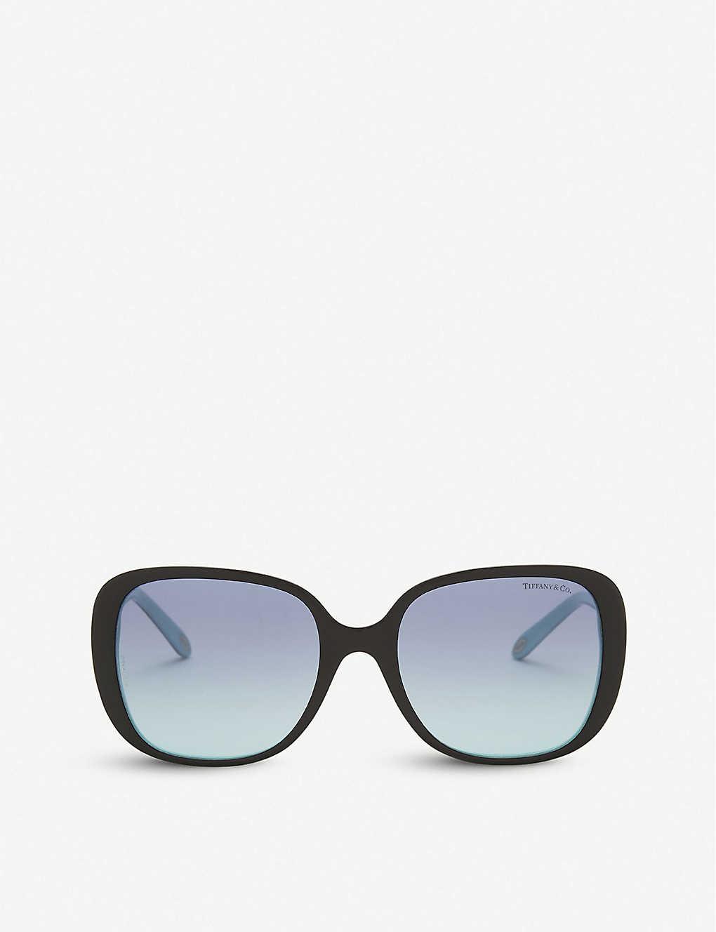 2eccfb3cd7cd TIFFANY & CO - Tf4137 square-frame sunglasses | Selfridges.com