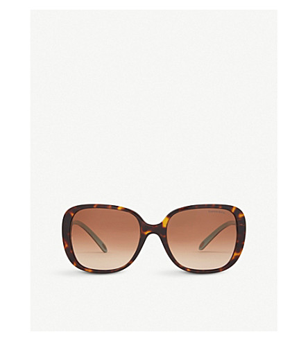 f50014f3c9c9 TIFFANY & CO - Tf4137b square-frame sunglasses | Selfridges.com