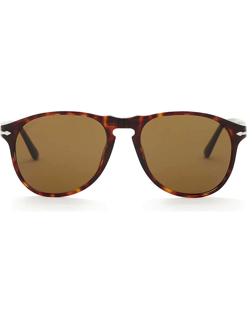 5f6e2e4fde Po6649s aviator sunglasses - Havana ...