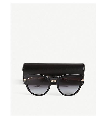 8433ee1187314 BVLGARI Bv8193 Diva s Dream cat-eye framed sunglasses (Black