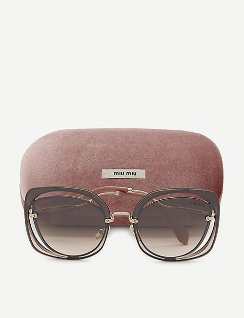 4192952c7768 MIU MIU - Sunglasses - Accessories - Womens - Selfridges | Shop Online