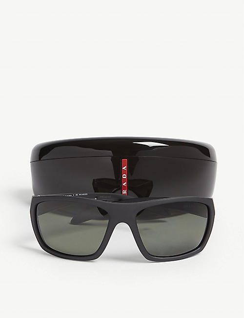 PRADA LINEA ROSSA PS06S rectangle-frame sunglasses
