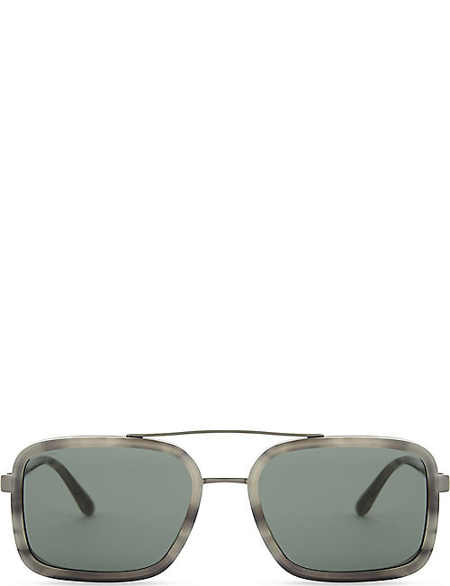 EMPORIO ARMANI 0AR6063 rectangle-frame sunglasses