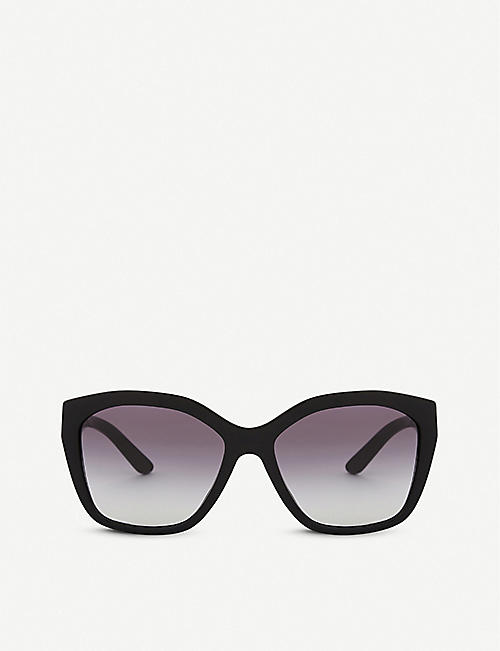 BURBERRY: BE4261 irregular-frame sunglasses