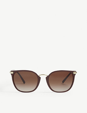 BURBERRY Cat-eye frame sunglasses