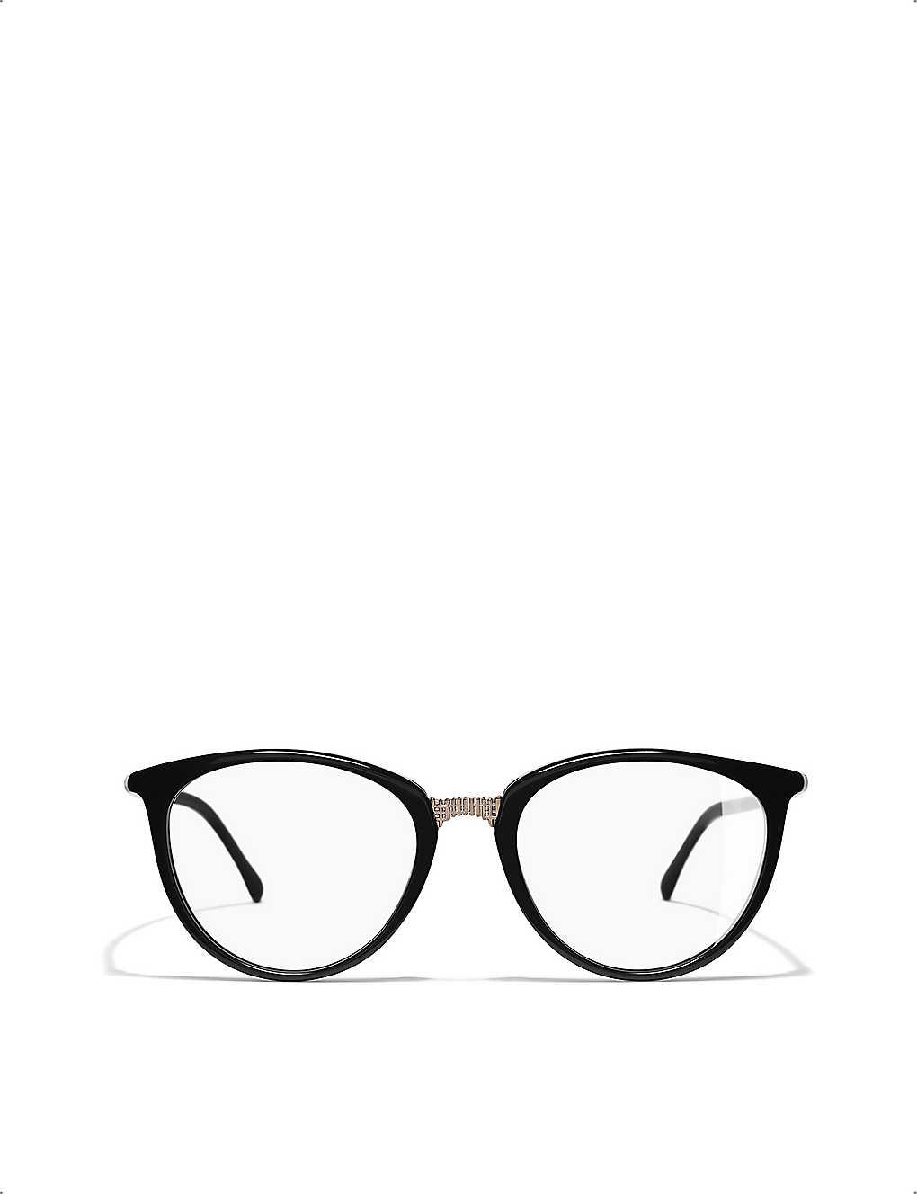 CHANEL: Cat-eye glasses