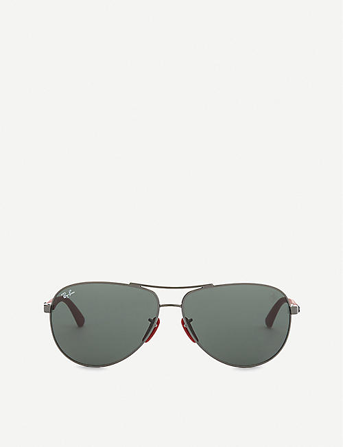 494eb699f8 RAY-BAN - Aviators - Sunglasses - Accessories - Womens - Selfridges ...