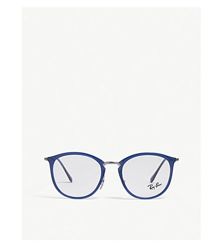 9dc77a2a0f ... RAY-BAN 0RX7140 Rb7140 square glasses (Blue. PreviousNext