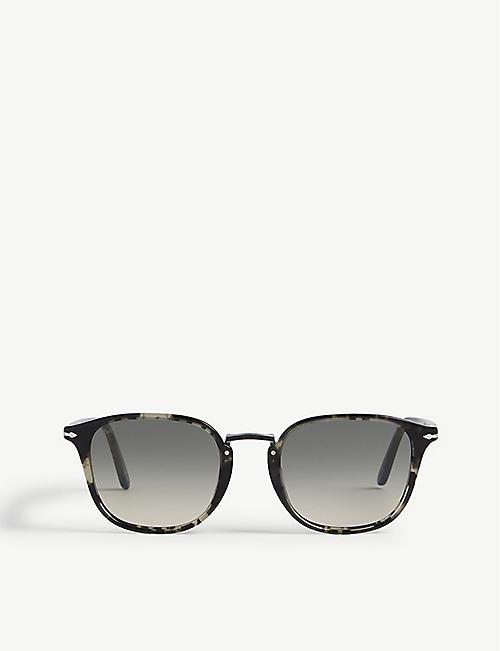 e8d509ba7f557 PERSOL PO3186 square-frame sunglasses