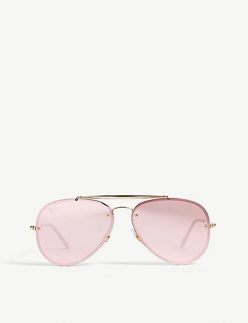 aaff8b4eb39 RAY-BAN - Aviators - Sunglasses - Accessories - Womens - Selfridges ...